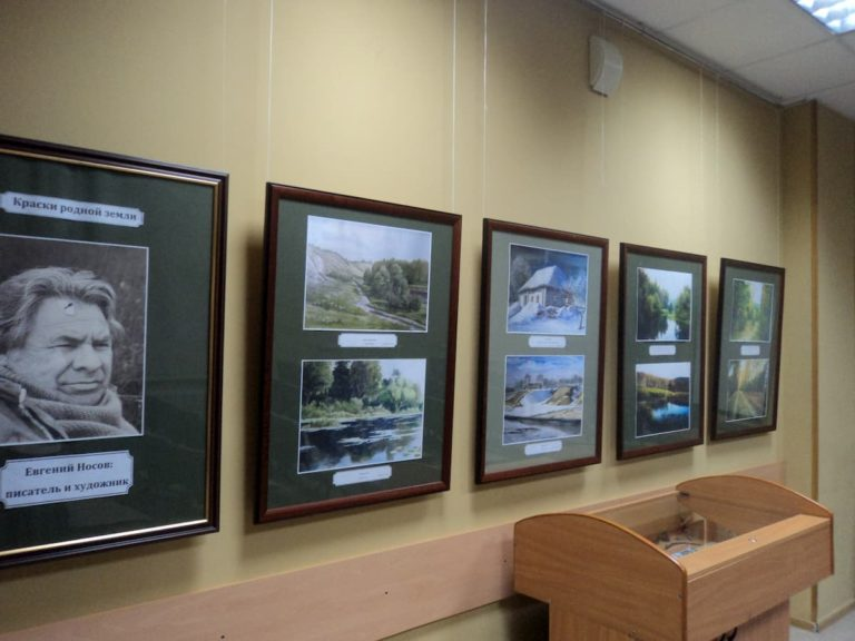 Выставка к 95-летию Е.И. Носова